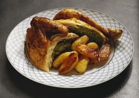 Roasted chicken is a versatile meal that can be made with little prep work.