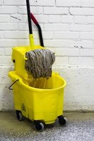 Setting the rates for a cleaning business requires estimation skills.