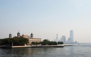 Millions of German immigrants passed through Ellis Island in the 1800s.