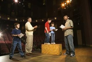Spontaneous acting keeps students active and involved.