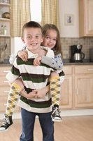 Older siblings often take care of and help their youngest sibling.