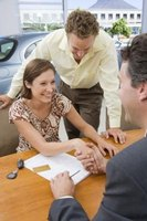 You might get a lease more easily if you can prove financial rehabilitation.