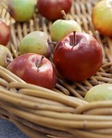 Apples with a long shelf-life usually make good options for applesauce.