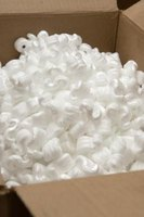 Packing peanuts are used to pack and ship items.