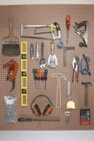 Builders use hack saws (top center) to manually cut through soft or thin metals.