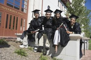 Graduation attire has different meanings for each piece worn during ceremonies.