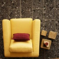 Granite floor tile can create an elegant, sophisticated look for your room.