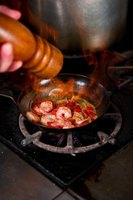 Cajun Shrimp is a popular dish in the deep South.