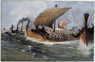 Viking ship designs vary according to their purpose.