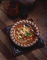 Create delicious, thick, tortilla soup with a few simple steps.