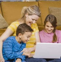 Children can listen and read along to well-known stories online.