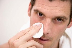 Have a clean nose before applying a nasal strip.