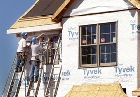 DuPont claims that wrapping a home in Tyvek can keep moisture out as well as lower its energy costs.