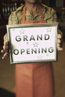 Let everyone know about the grand opening of your grocery store.