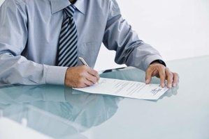 Witness and notary signatures are used to add credibility to legal documents.
