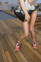 Exercise will help give your knees a streamlined shape.