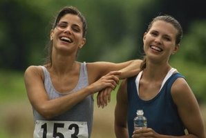 Running can build confidence and foster friendships.