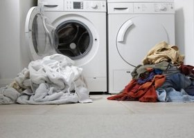 Dry laundry immediately and clean washer doors to prevent odors.