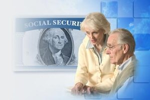 Social Security benefits should go in a separate account for protection from debt judgments.