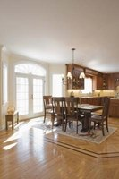 The difference between dining and breakfast rooms comes down to size and room purpose.