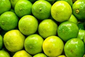 Limes can be used in a variety of home beauty remedies.