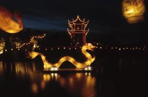 Lighted boat parades provide holiday entertainment in many waterfront towns.