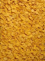 Corn flakes are a common substitute for bread crumbs when baking chicken.