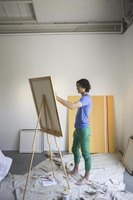 Many artists frame their own canvas boards.