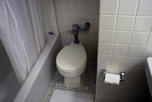White is the most common color of toilet.