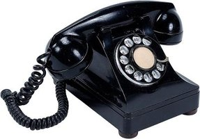 Telephones have advanced since the 1940s rotary-dial models.