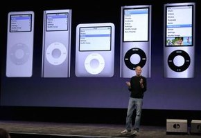 The design of the Apple iPod has evolved since its initial launch in 2001.