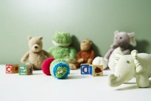 Encourage role-playing activities for your child with stuffed animals.