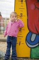 Height can be measured in centimeters or feet and inches.