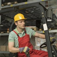 Forklift clamp packages are driven with the same hydraulic system that drives standard forklifts.