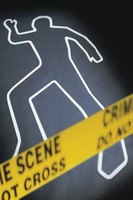 Some criminologists study crime scenes.