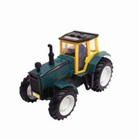 This toy is a good model of a real tractor.