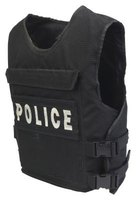 Bulletproof vest level ratings consider risks of injury from gunshots and stabbings.
