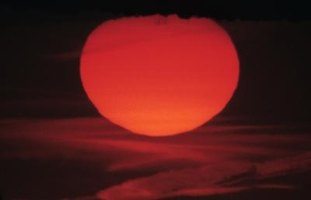 The sun will eventually become a red giant and then a white dwarf.