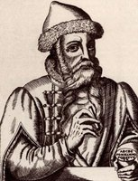 Gutenberg perfected the printing press during the Renaissance.