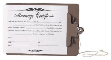 Your marriage certificate will be issued following the civil ceremony.