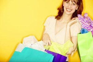 Customer focus can include providing gift bags for gift products.
