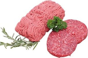 Ground beef can be made of scraps from beef cuts.