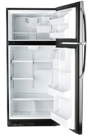 Refrigerators like this one use several chemicals like acrylonitrile, which makes up the plastic interior shelving.