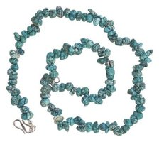 Most grades of turquoise must be stabilized before being cut or drilled.
