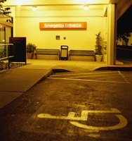 Disabled parking permits allow the holder to use specially designated parking places.