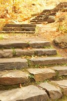 This is one style of stone steps.