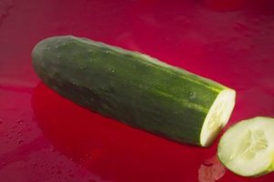 Marketmore cucumbers have a uniform shape and ideal taste.