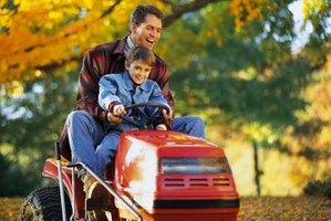 A faulty starter solenoid may cause starting problems with your lawn tractor.
