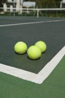 Tennis balls are designed with several skill levels in mind.