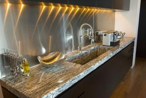 Marble countertops can be thick and difficult to move.